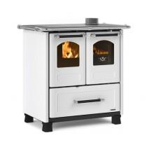La Nordica Extraflame - Cucina a legna -  Modello Family 4,5 -Rivestimento bianco- Codice 7014003