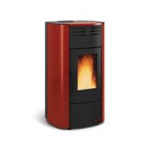 La Nordica  Extraflame - TermoStufa a pellet aria - Modello Raffaella Idro 2.0  - Colore Bordeaux  - Codice 1280303